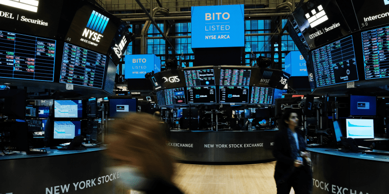 First Bitcoin Futures ETF To Trade On NYSE Debuts On The Exchange