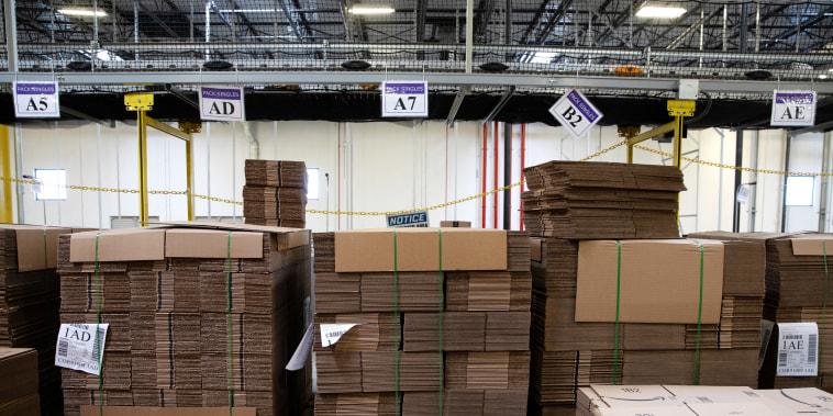 Image: Cardboard boxes