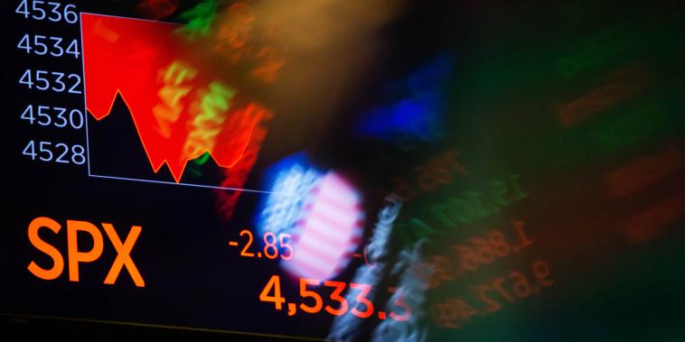The New York Stock Exchange on Oct. 21, 2021.