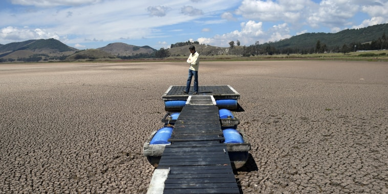 Image: Colombia drought