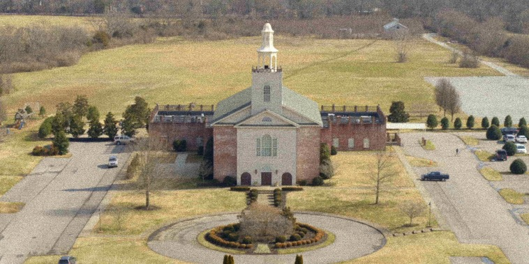 Image: Aerial view of the Remnant Fellowship Church.