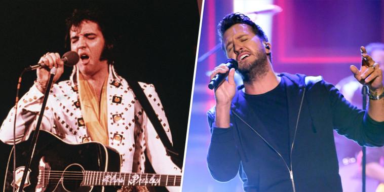 Elvis Presley, Luke Bryan
