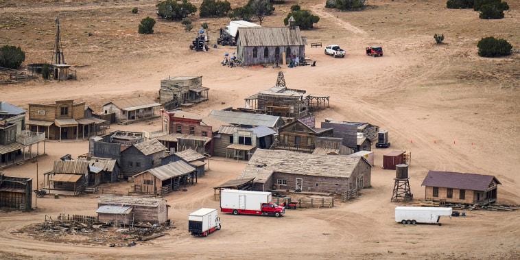 an aerial shot of the bonanza ranch