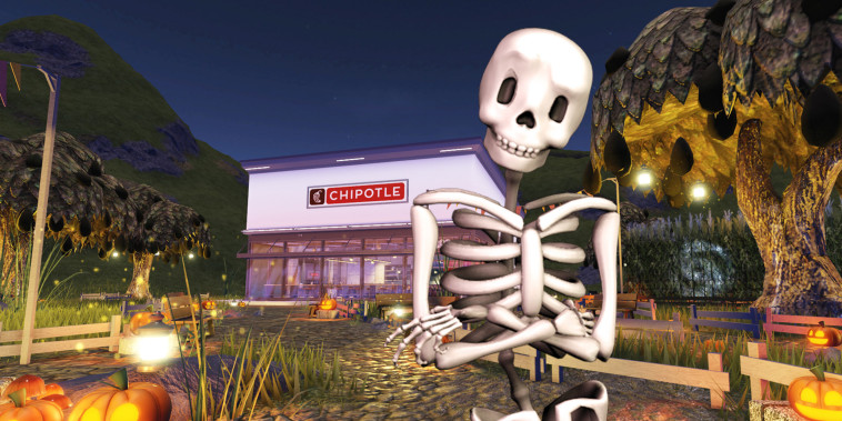 Chipotle will be the first restaurant brand to open a virtual location on Roblox when the Chipotle Boorito Maze experience goes live.