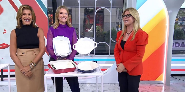 Jill Martin on TODAY broadcast for her Steals and Deals segment