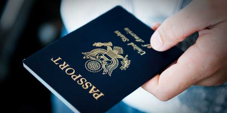 A U.S. passport.