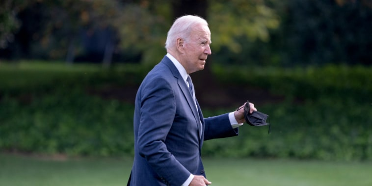 President Biden Arrives To White House After New Jersey Travel