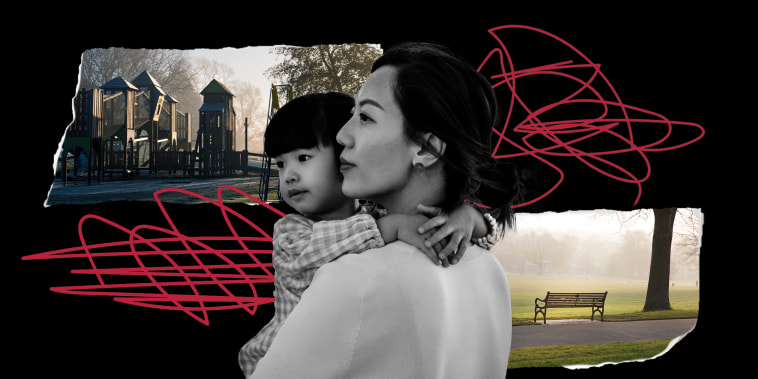 For many Asian American moms, every trip to the grocery store or playground is now fraught with an extra level of tension.