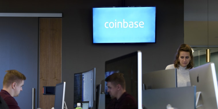 Inside The Coinbase Office As Company Wants Wall Street to Resolve Its Bitcoin Trust Issues