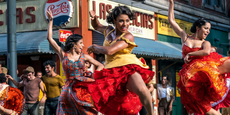 """The first teaser trailer for Steven Spielberg's """"West Side Story"""" debuted during the Oscars on Sunday."""