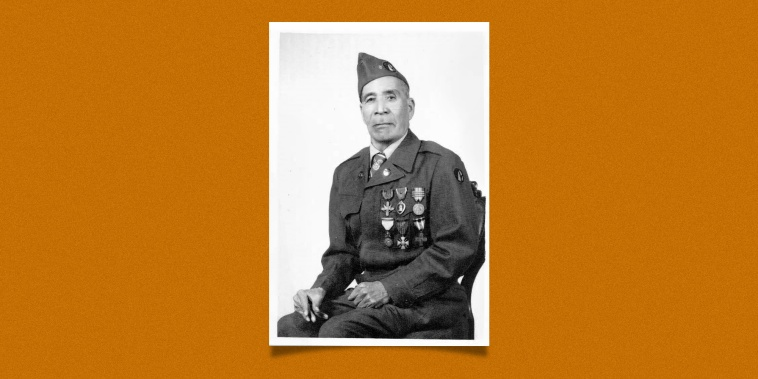 Marcelino Serna, the first Mexican American soldier to receive the Distinguished Service Cross and one of the most decorated Texans of World War I.