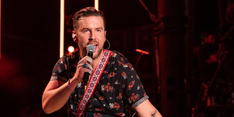 T.J. Osborne of musical duo Brothers Osborne at the CMA Music Festival on June 6, 2019 in Nashville, Tenn.