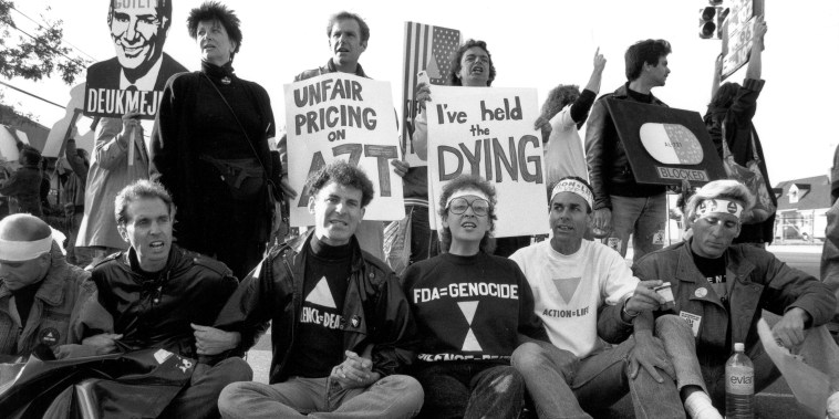 ACT UP Demonstrators Protest And Take Over The FDA Headquarters