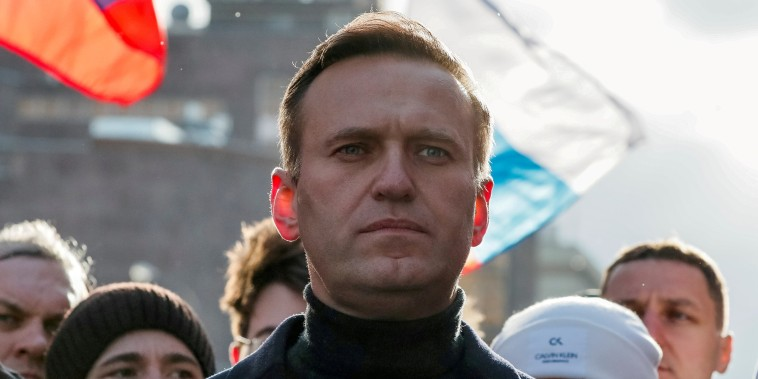 Image: Russian opposition politician Alexei Navalny