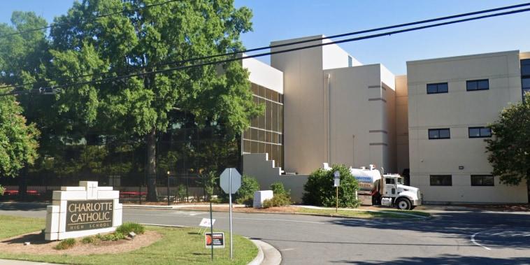 Charlotte Catholic High School in Charlotte, N.C.