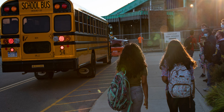 Students Return To School For In-Person Learning In Michigan