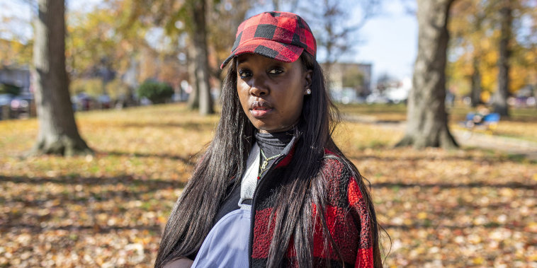 Rickia Young, 28, of North Philadelphia.