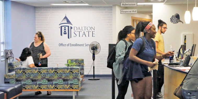 Dalton State College became the first college in Georgia to be designated a Hispanic Serving Institution in 2018.