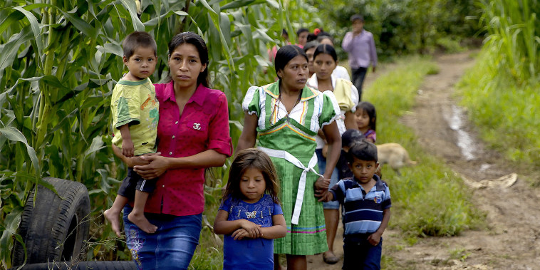Malnourished children,