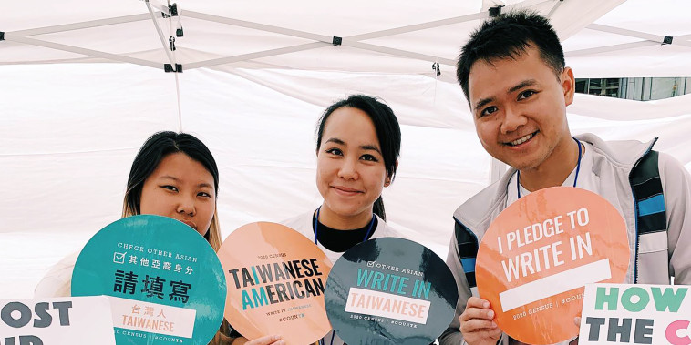 The Taiwanese American Citizens League's Write in Taiwanese Census Campaign encouraged Taiwanese Americans to self-identify on the 2020 survey.
