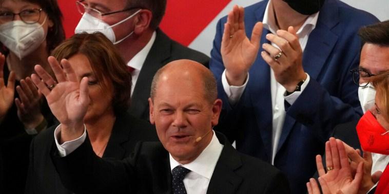 Olaf Scholz, ministro de Finanzas y  candidato del Partido Socialdemócrata