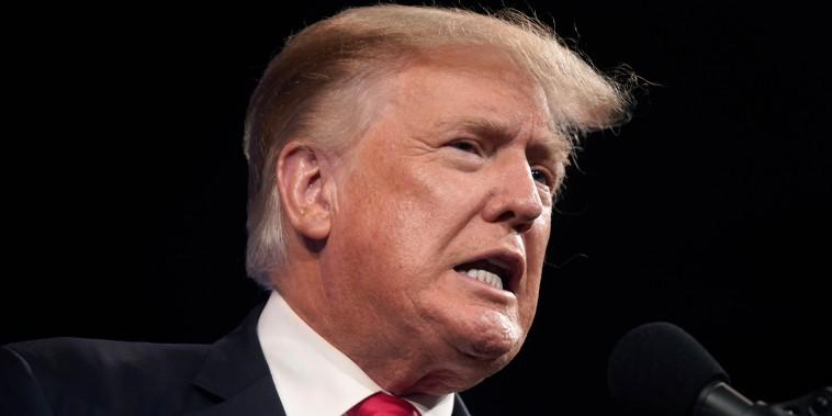 El expresidente Donald Trump en Dallas, Texas, el 11 de julio de 2021.