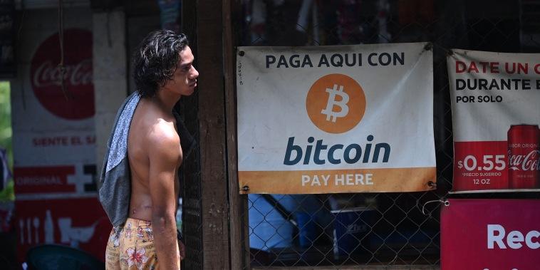 Image: El Salvador, Bitcoin currency
