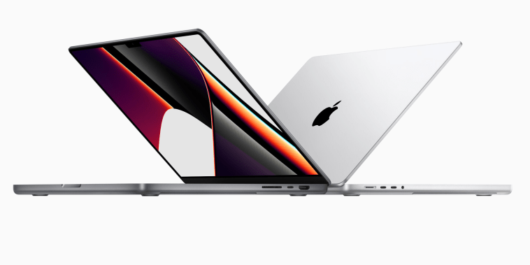 The new MacBook Pro powered by the all-new M1 Pro and M1 Max — the first pro chips designed for the Mac — available in 14- and 16-inch models.
