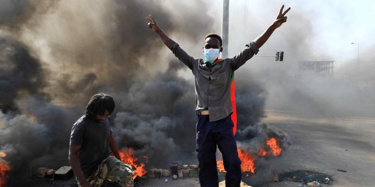 Image: SUDAN-UNREST-POLITICS
