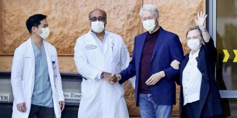 El expresidente fue internado por una infección urinaria