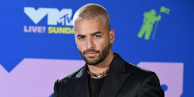 Maluma en los MTV Video Music Awards 2020 en la ciudad de Nueva York