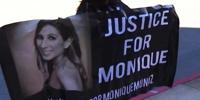 La familia de Muñoz ha criticado la acción de la justicia con el adolescente.