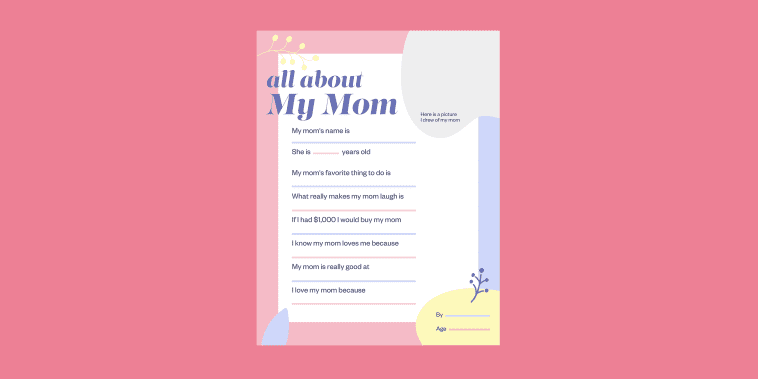 All About my Mom LEAD