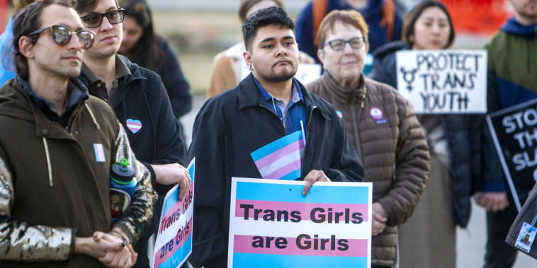 Trump administration supports Idaho bill to ban transgender women, girls from female sports