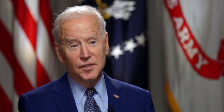 Image: Joe Biden TODAY interview
