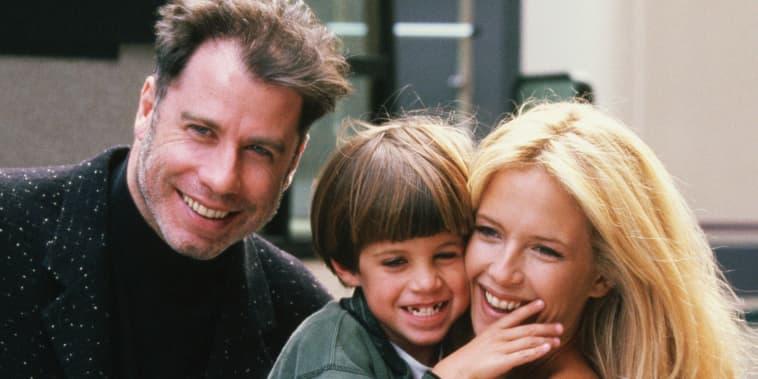 John Travolta, Kelly Preston,  Jett
