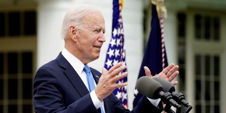 Image: U.S. President Joe Biden speaks about the COVID-19 response in Washington