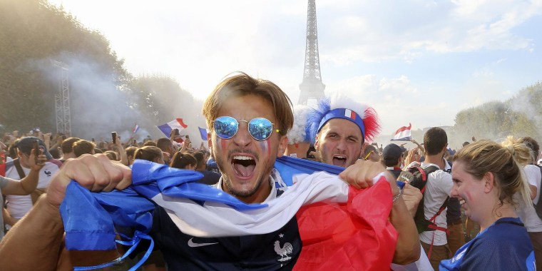 Watch Paris erupt in celebration after World Cup win