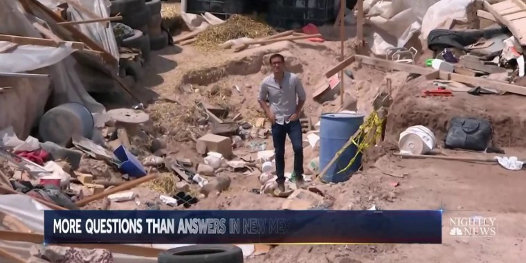 New Mexico compound mysteriously destroyed by authorities