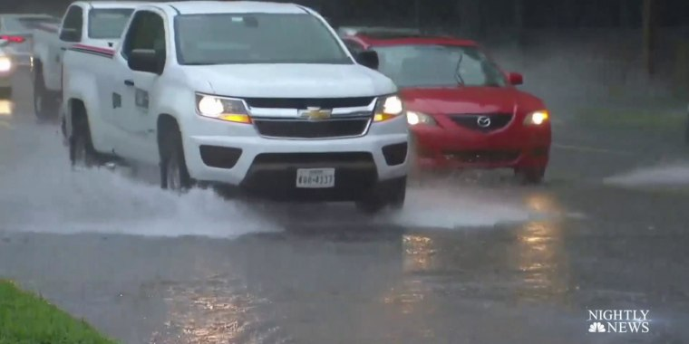 More than 30 million on flash flood watch on the East Coast