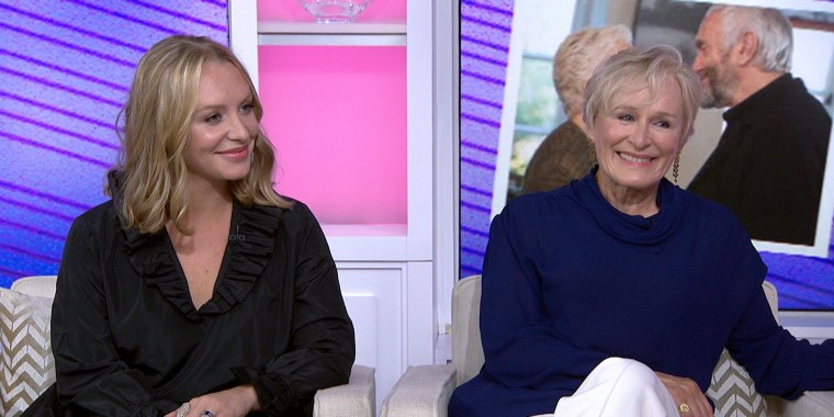 Glenn Close and daughter Annie Starke open about working on 'The Wife'