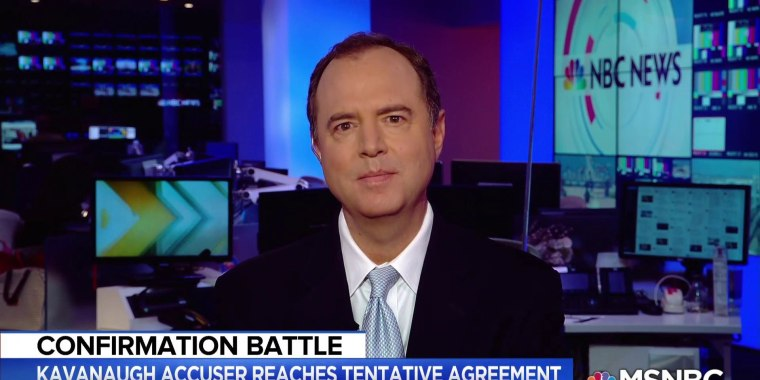 Rep Schiff: It's appalling to suggest Dr. Ford is being used