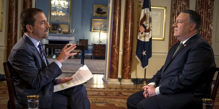 Pompeo on intelligence sharing: 'We're trying to all get at the same end'