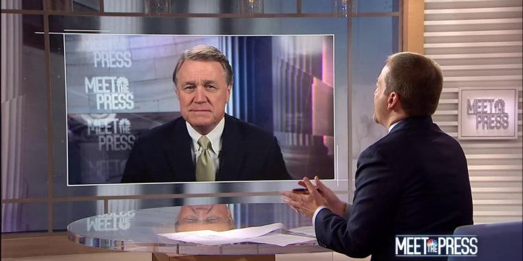 Sen. Perdue: 'There's no rush here' on Kavanaugh hearings