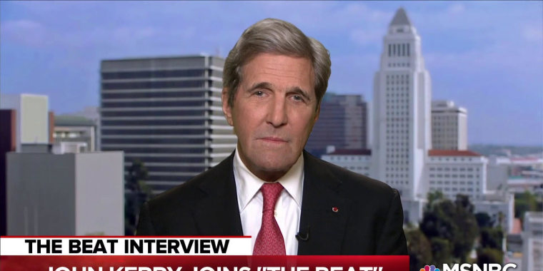 John Kerry: Trump effected 'hostile takeover' of Republican Party
