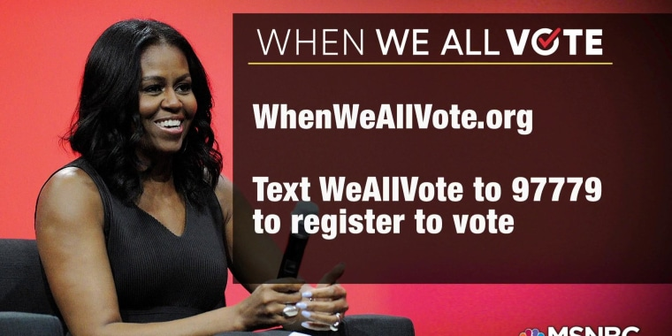 Michelle Obama launches voter registration campaign