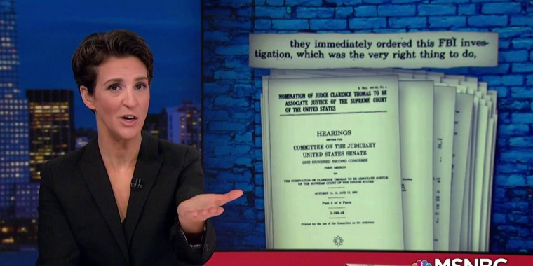 Maddow: Republicans mislead on FBI role to avoid Kavanaugh investigation