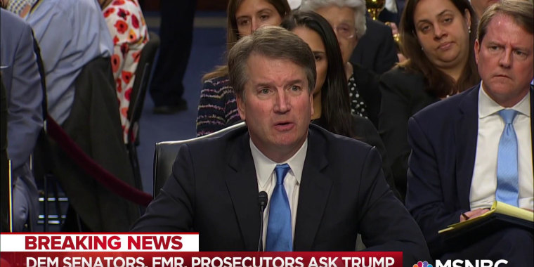 Maddow: GOP fails to explain excluding FBI from Kavanaugh investigation