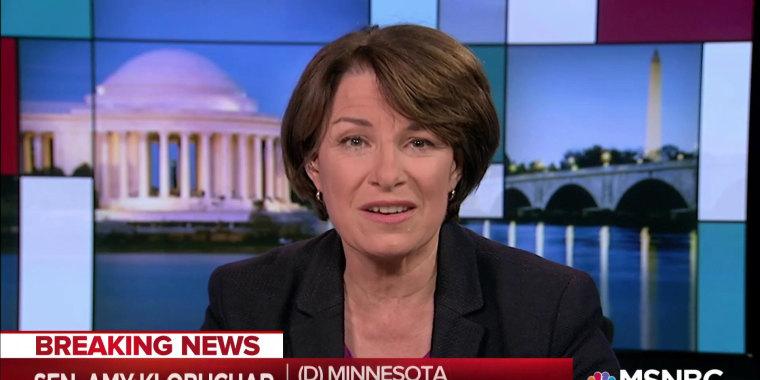Senator Klobuchar: Congress must protect Mueller investigation