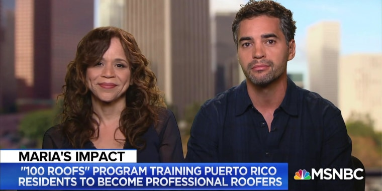 The 100Roofs Project: Helping Puerto Rican families rebuild after Maria